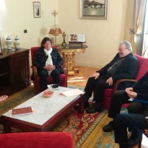 Ciudadanos califica de muy cordial y fructífera la reunión mantenida con el Obispo