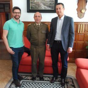 El Grupo Municipal de Ciudadanos se reúne con el subdelegado de Defensa