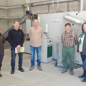 Cervera estudia la posibilidad de instalar una red urbana de calefacción por biomasa
