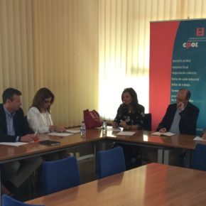 Ciudadanos se reúne con los empresarios palentinos