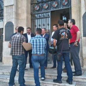Ciudadanos se reúne con la asociación JUSAPOL