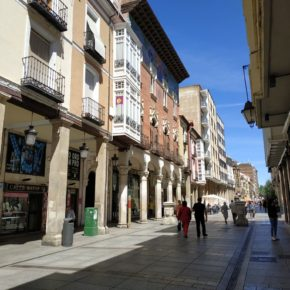 Ciudadanos pide que se instalen placas representativas de los municipios de Palencia en la calle Mayor.